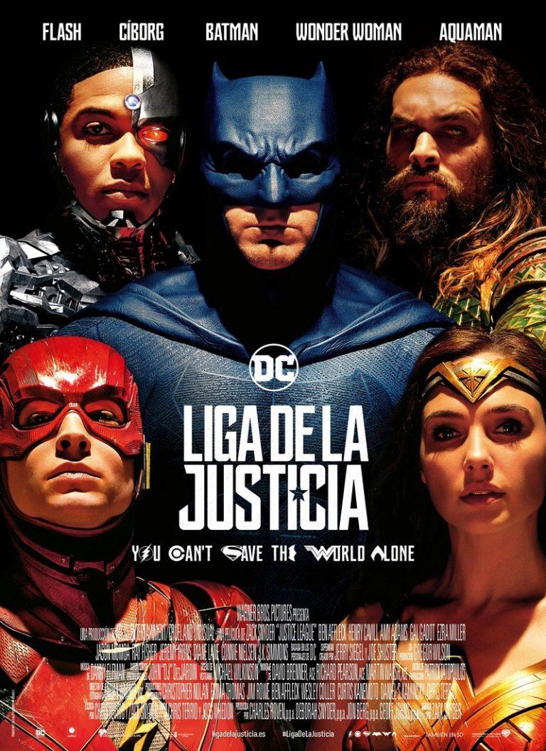 LA LIGA DE LA JUSTICIA [2017] (Justice League) [HD 720p, Latino, Mega]