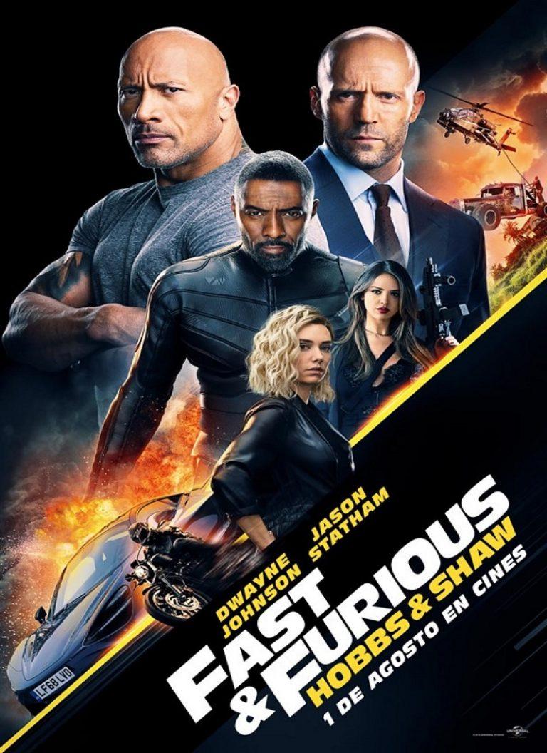 Rapidos y Furiosos Hobbs and Shaw [2019] (Fast & Furious Presents: Hobbs & Shaw) [HD, Latino, Mega]