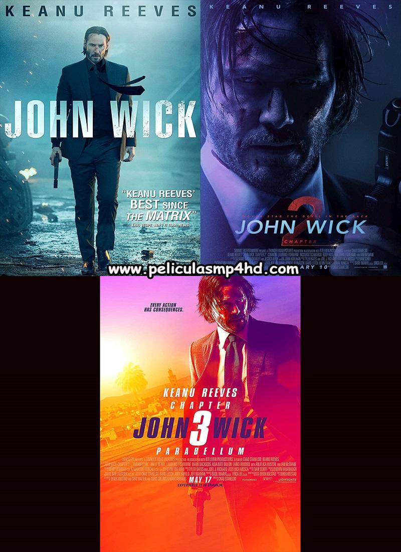 Descargar Película SAGA John Wick MP4 HD720p Latino