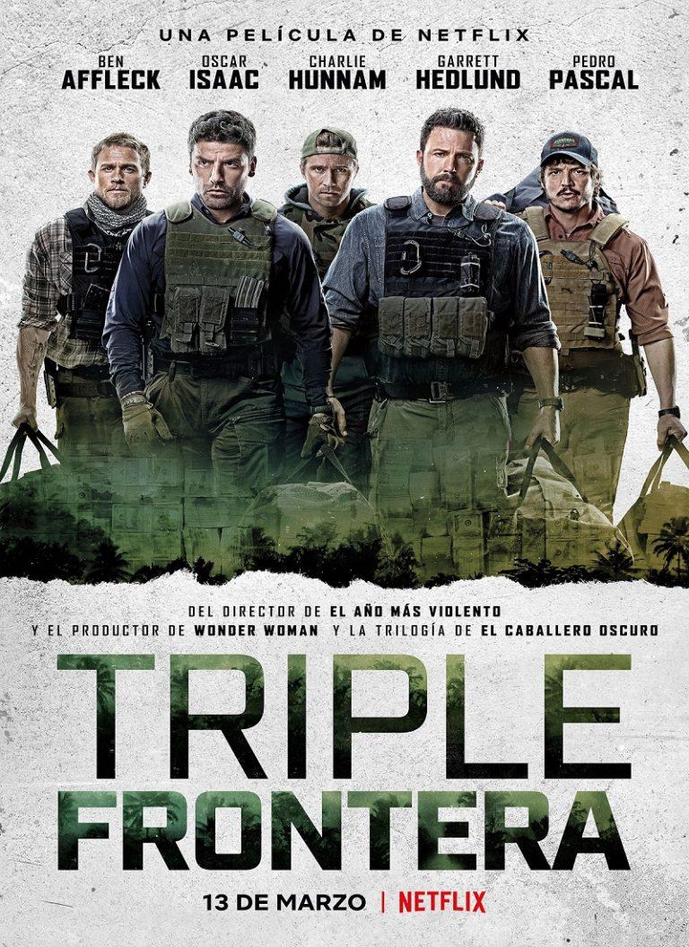 TRIPLE FRONTERA [2019] (Triple Frontier) [HD 720p, Latino, Mega]