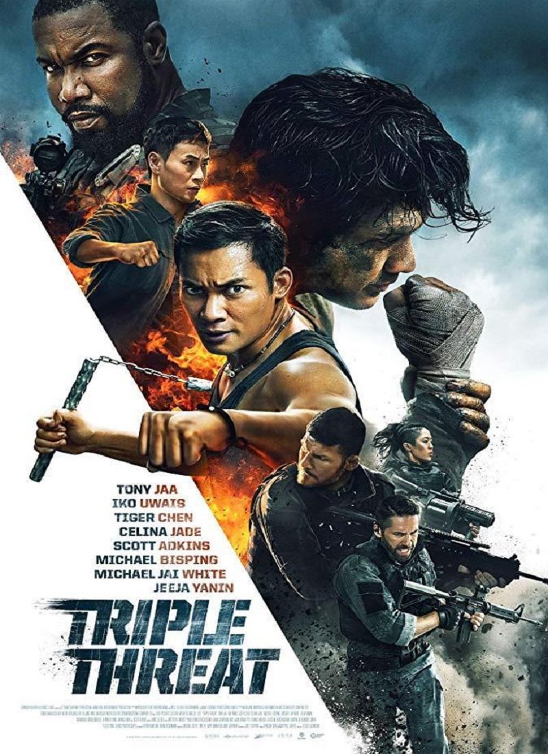 Descargar Película TRIPLE AMENAZA [2019] (Triple Threat) MP4 HD720p Latino