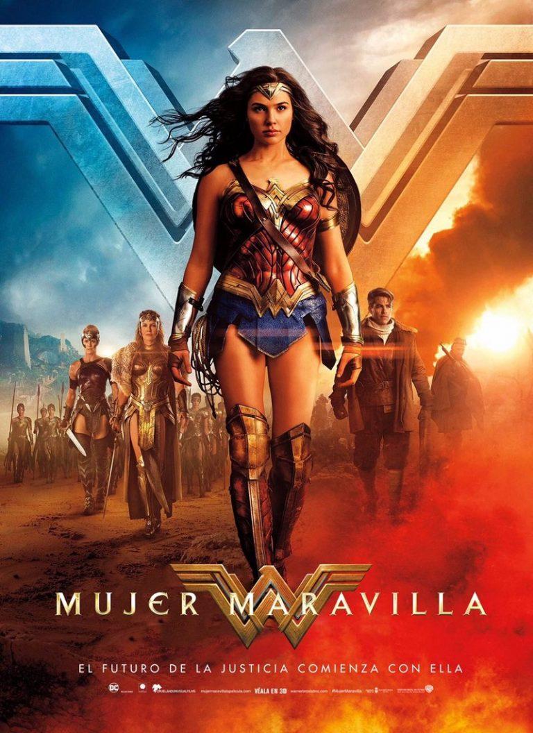 LA MUJER MARAVILLA [2017] (Wonder Woman) [HD 720, Latino, MEGA]