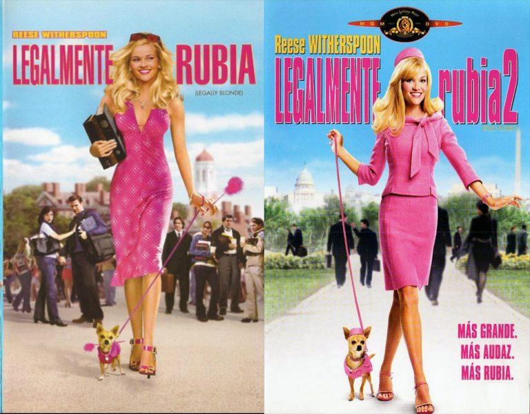 Saga LEGALMENTE RUBIA (Legally Blonde) [HD 720, Latino, MEGA]