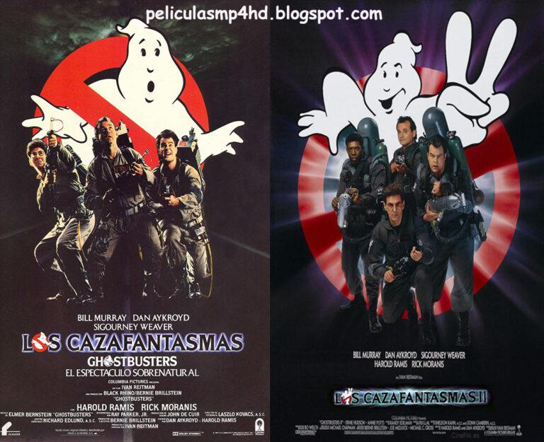 Saga LOS CAZAFANTASMAS (Ghostbusters) [HD 720, Latino, MEGA]