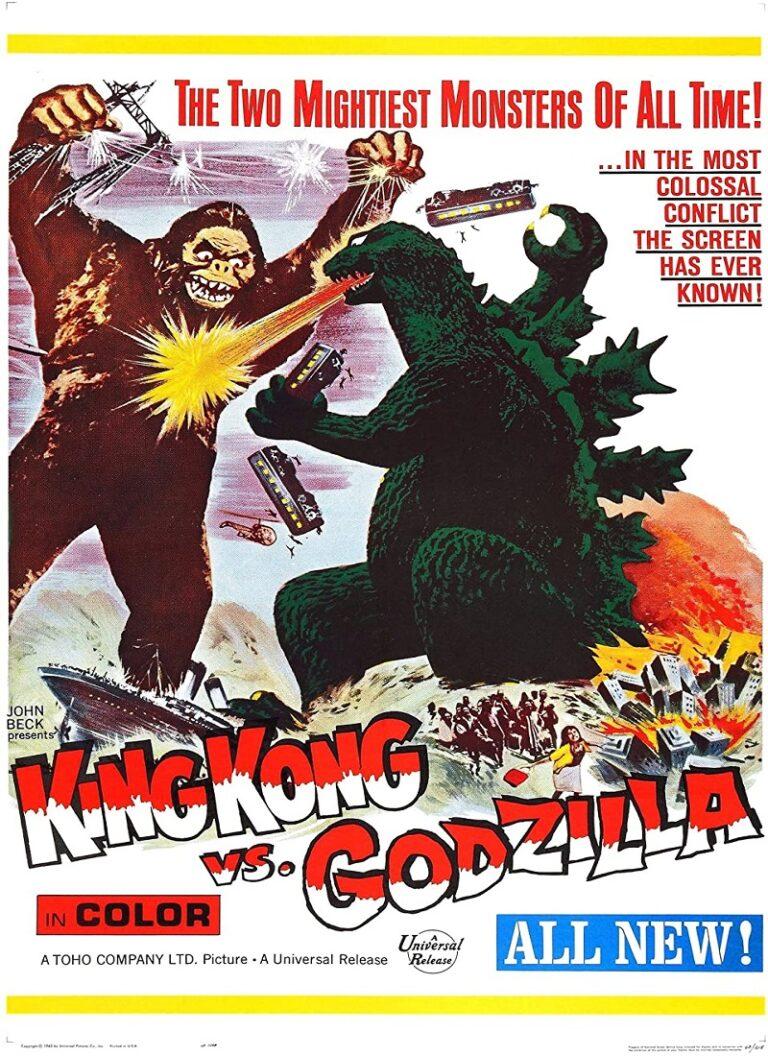 KING KONG CONTRA GODZILLA [1962] (Kingu Kongu tai Gojira) [HD 720, Subtítulada, MEGA]