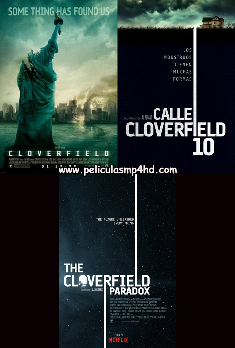 Saga UNIVERSO CLOVERFIELD [HD 720, Latino, MEGA]