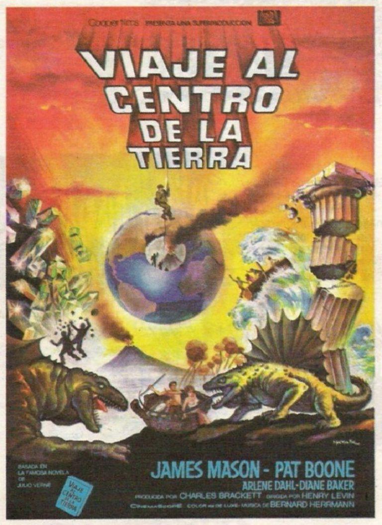 VIAJE AL CENTRO DE LA TIERRA [1959] (Journey to the Center of the Earth) [HD 720, Latino, MEGA]