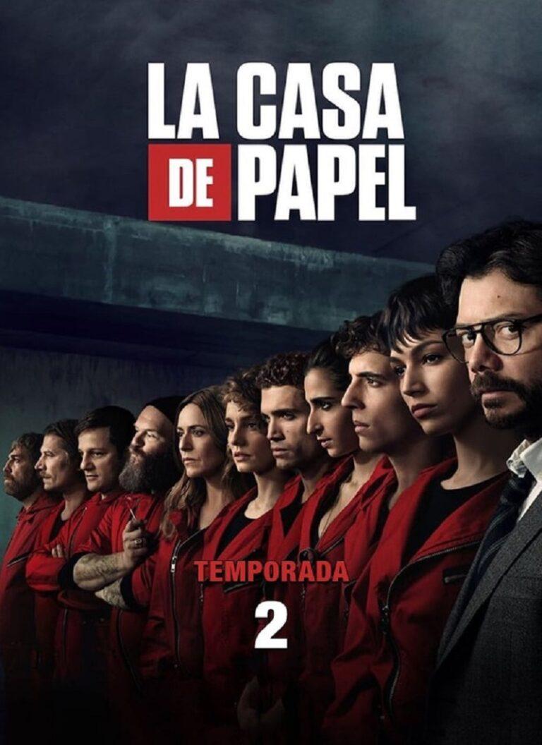 LA CASA DE PAPEL Temporada 2 [2018] [HD 720p, Castellano, MEGA]