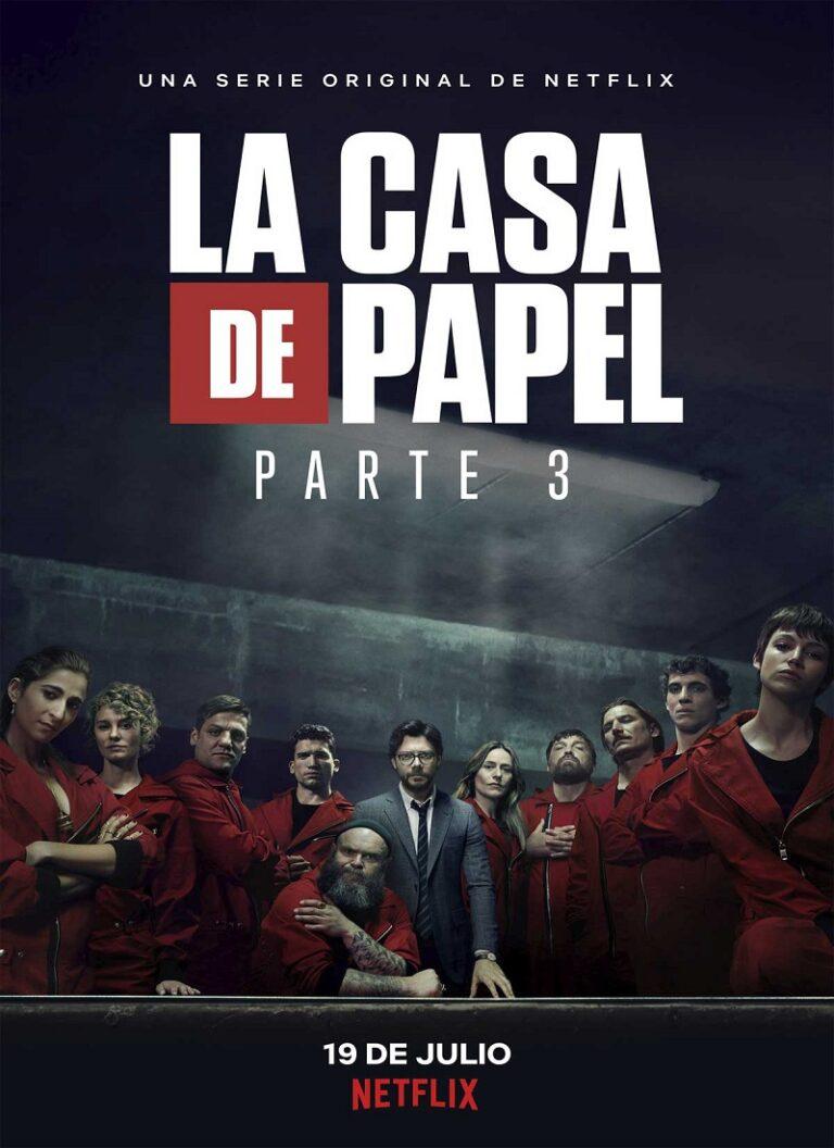 LA CASA DE PAPEL Temporada 3 [2019] [HD 720p, Castellano, MEGA]