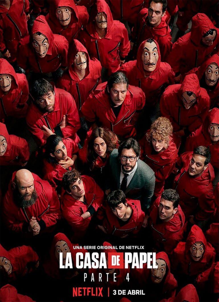 LA CASA DE PAPEL Temporada 4 [2020] [HD 720p, Castellano, MEGA]
