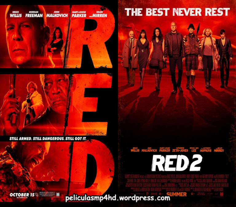 Saga RED: Retirados Extremadamente Duros [HD 720, Latino, MEGA]
