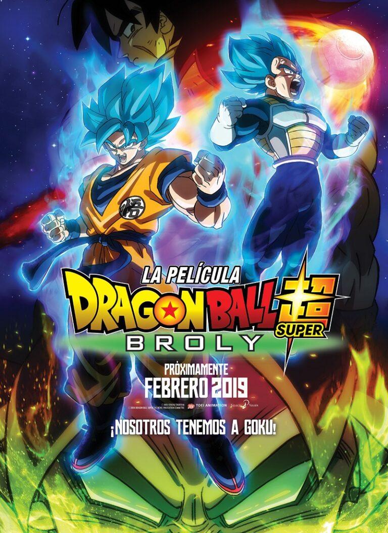 DRAGON BALL SUPER: BROLY [2018] [HD 720, Latino, MEGA]