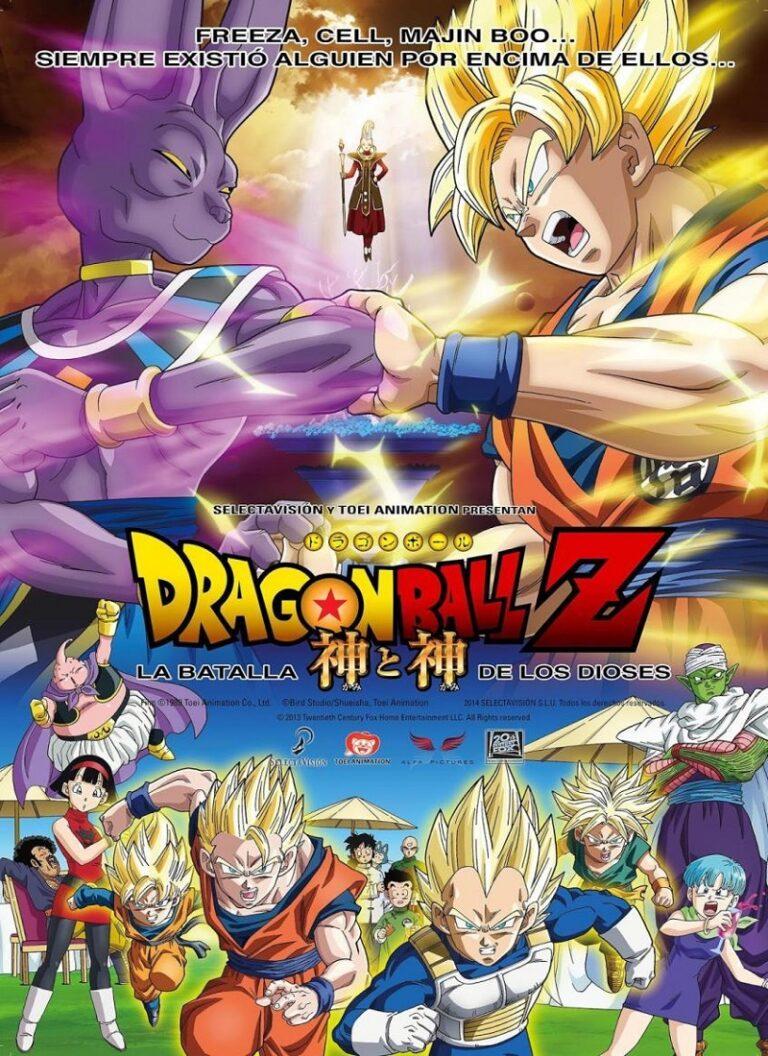 DRAGON BALL Z: LA BATALLA DE LOS DIOSES [2013] (Dragon Ball Z: Battle of Gods) [HD 720, Latino, MEGA]