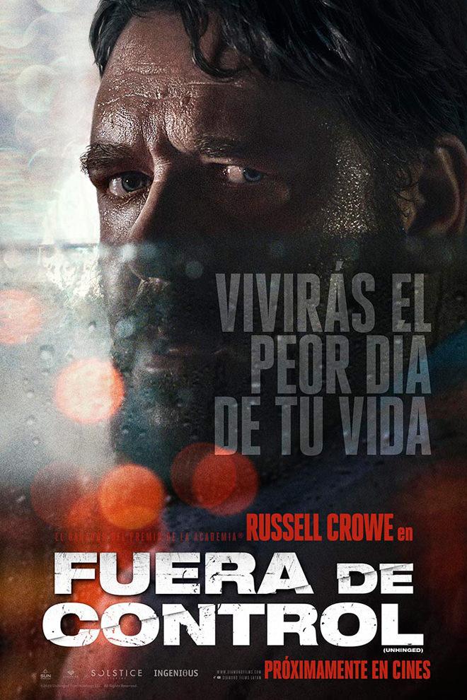 FUERA DE CONTROL [2020] (Unhinged) [HD 720, Latino, MEGA]