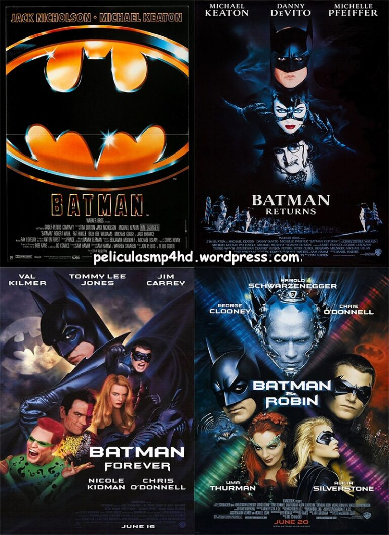 Saga BATMAN de Tim Burton (Tim Burton´s Batman) [HD 720, Latino, MEGA]