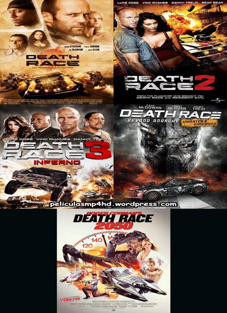 Saga LA CARRERA DE LA MUERTE (Death Race) [HD 720p, Latino]