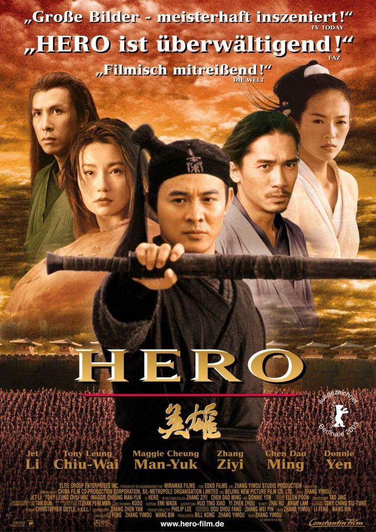 HÉROE [2002] (Hero) [HD 720p, Latino]