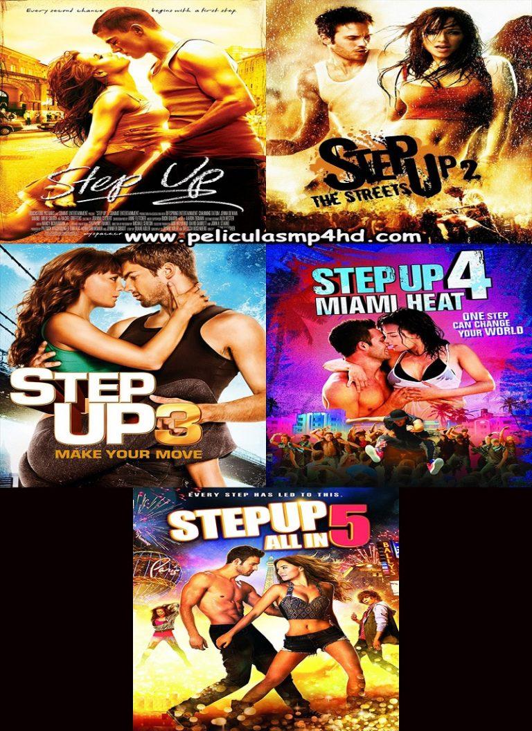 Saga STEP UP [HD 720p, Latino]