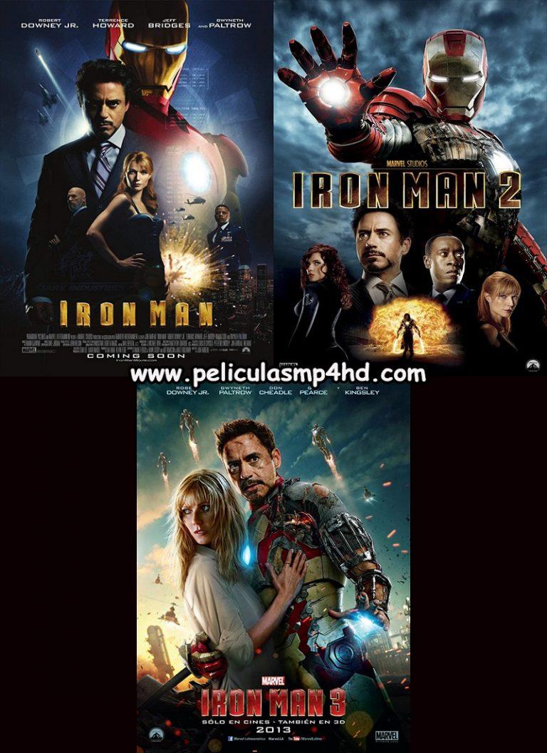 Trilogía IRON MAN [HD 720p, Latino, MEGA]