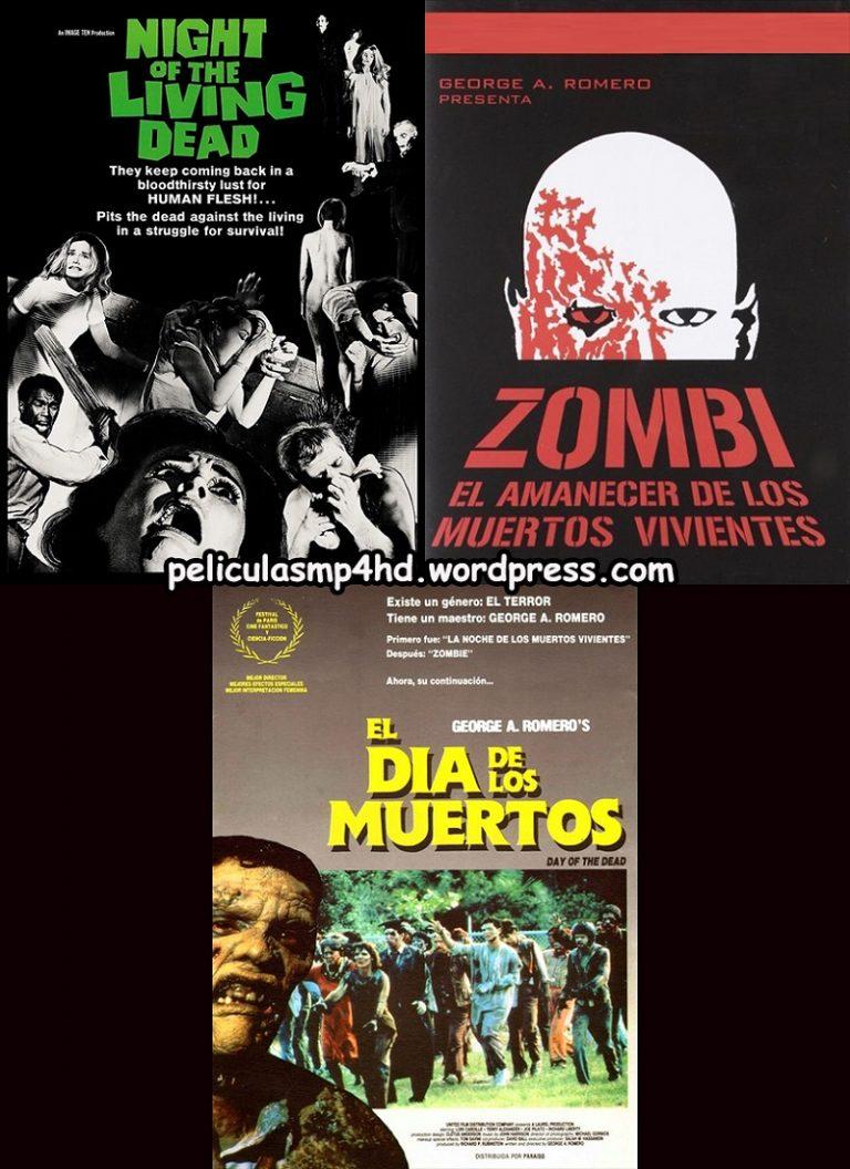 Trilogía LOS MUERTOS VIVIENTES de George A. Romero (George A. Romero's Living Dead) [HD 720p, Latino, MEGA]