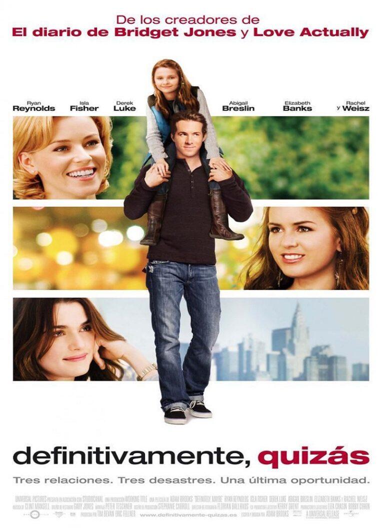 DEFINITIVAMENTE, QUIZÁS [2008] (Definitely, Maybe) [HD 720p, Latino]