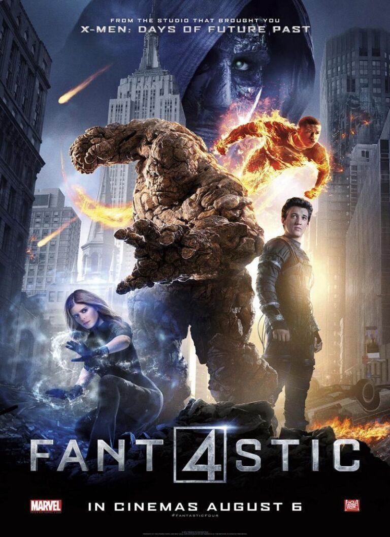 LOS 4 FANT�STICOS [2015] (The Fantastic Four) [HD 720p, Latino]