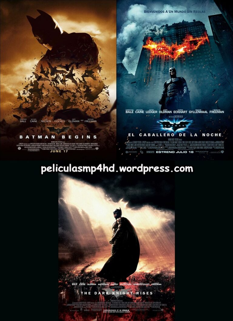 Trilogía BATMAN de Christopher Nolan (The Dark Knight) [HD 720, Latino, MEGA]