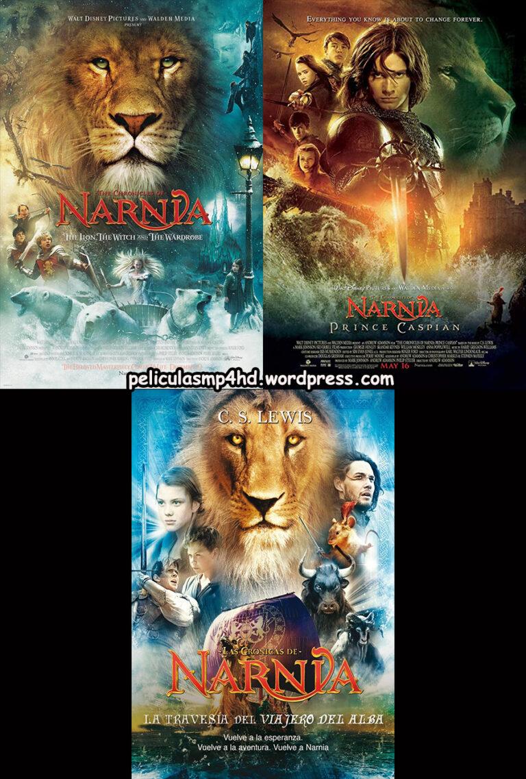 """Saga LAS CRÃ""""NICAS DE NARNIA (The Chronicles of Narnia) [HD 720, Latino, MEGA]"""