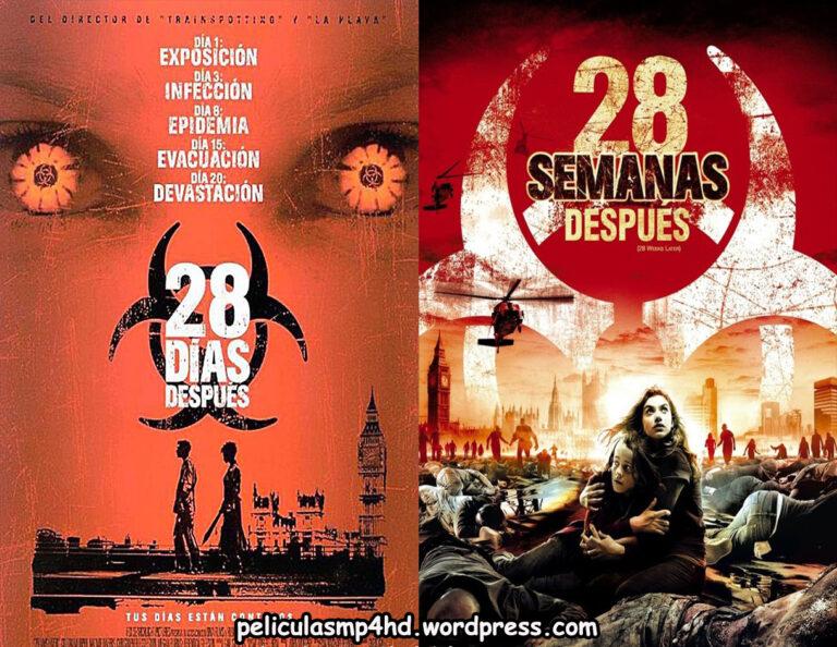 Saga EXTERMINIO (28 Días Después / 28 Semanas Después) [HD 720p, Latino, MEGA]