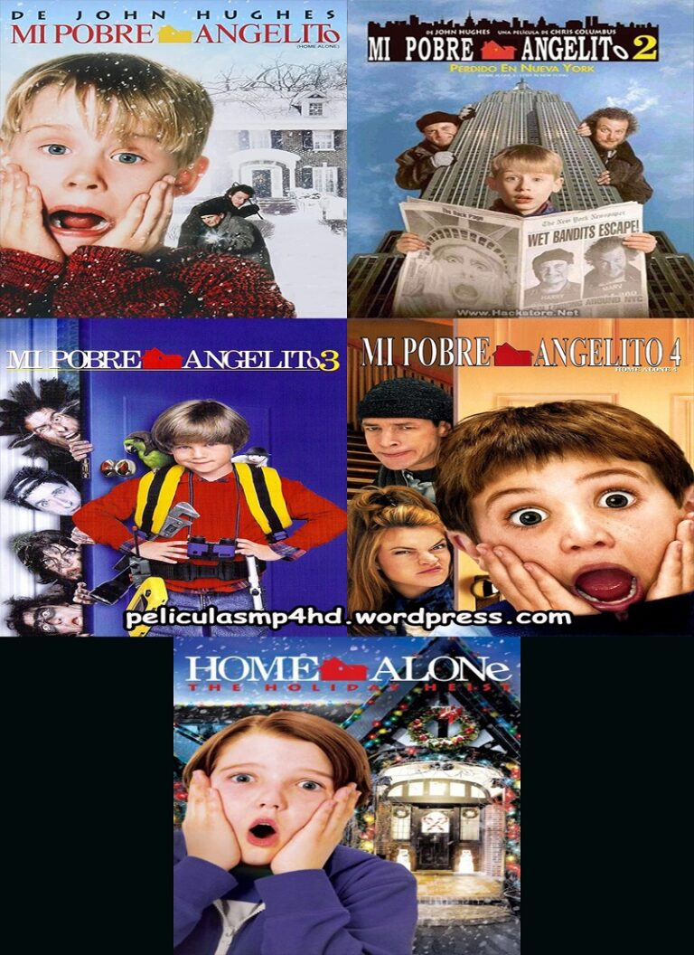 Saga MI POBRE ANGELITO (Home Alone) [HD 720, Latino, MEGA]