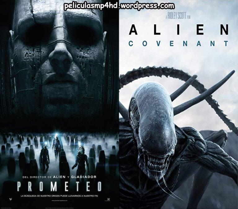 Saga PROMETEO/ALIEN: COVENANT [HD 720p, Latino, MEGA]