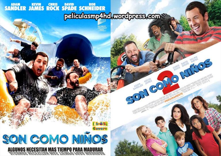 Saga SON COMO NIÃ'OS (1 y 2) (Grown Ups) [HD 720, Latino, MEGA]
