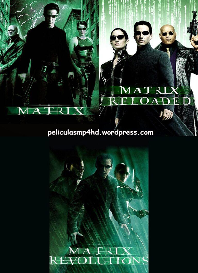 Trilogía MATRIX (The Matrix) [HD 720, latino, MEGA]