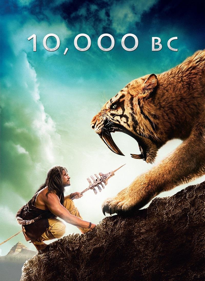 10,000 A.C. [2008] (10,000 B.C.) [HD 720p, Latino]