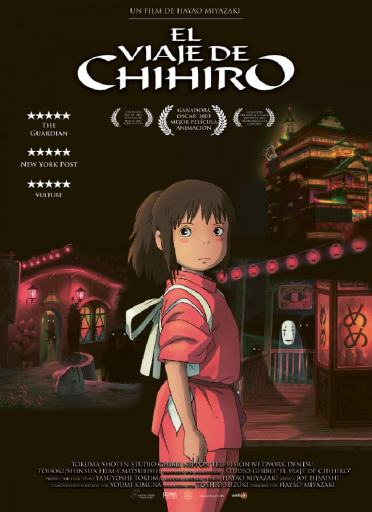 EL VIAJE DE CHIHIRO [2001] (Sen to Chihiro no kamikakushi) [HD 720p, Latino]