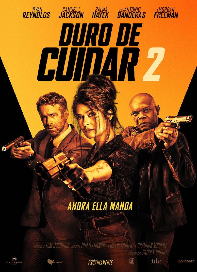 DURO DE CUIDAR 2 [2021] (Hitman's Wife's Bodyguard) [HD 720p, Latino, MEGA]