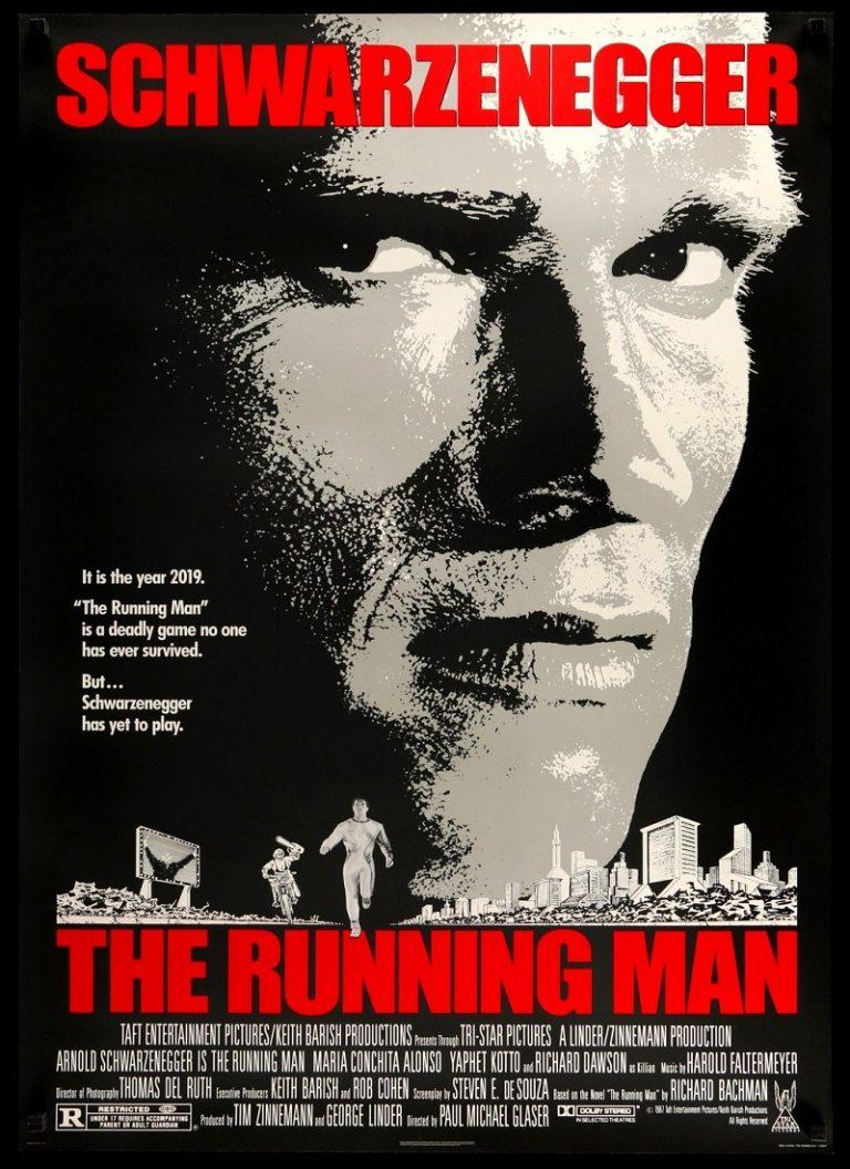 EL SOBREVIVIENTE [1987] (The Running Man) [HD 720p, Latino, MEGA]