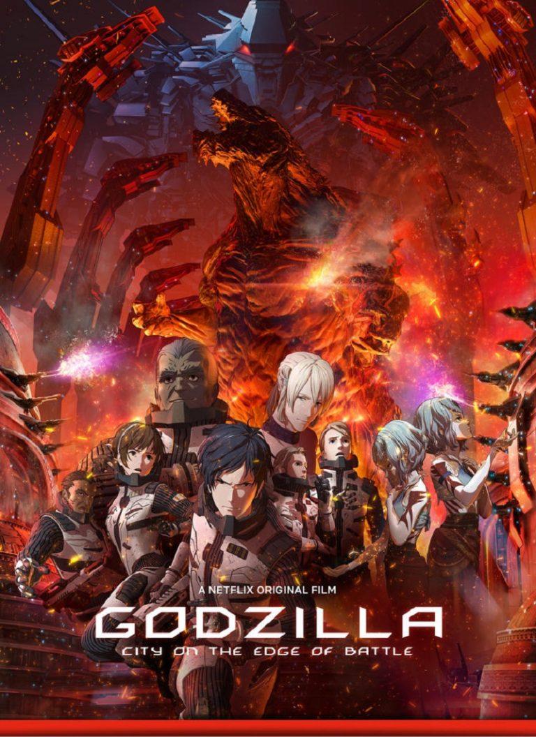 GODZILLA 2: CIUDAD AL FILO DE LA BATALLA [2018] (Godzilla: City on the Edge of Battle) [HD 720p, Latino, MEGA]