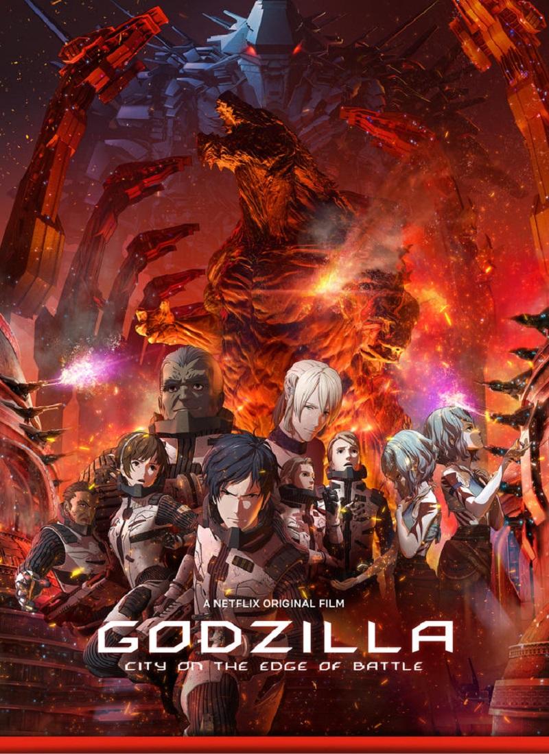 Descargar Película GODZILLA 2: CIUDAD AL FILO DE LA BATALLA [2018] (Godzilla: City on the Edge of Battle) MP4 HD720p Latino