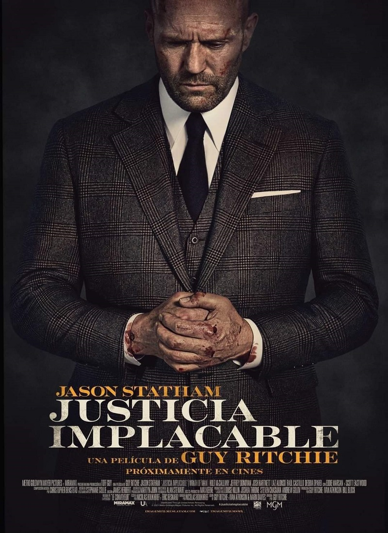 JUSTICIA IMPLACABLE [2021] (Wrath of Man) [HD 720p, Latino, MEGA]