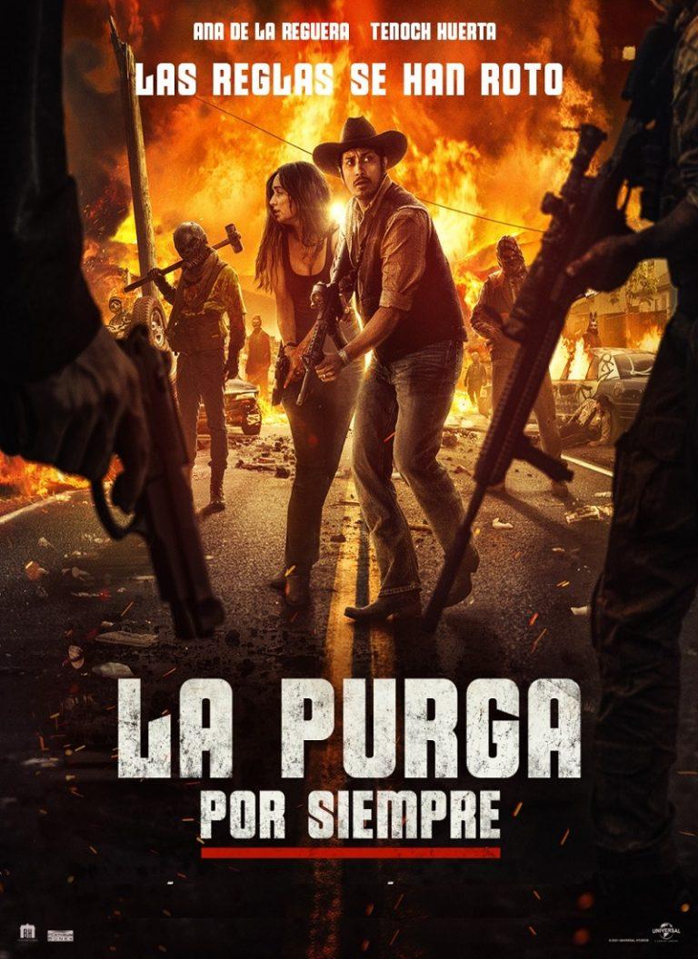 LA PURGA POR SIEMPRE [2021] (The Forever Purge) [HD 720p, Latino, MEGA]
