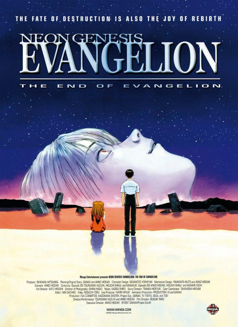 NEON GENESIS EVANGELION: THE END OF EVANGELION [1997] (Shin seiki Evangerion Gekij�-ban: The End of Evangelion) [HD 720p, Latino, MEGA]