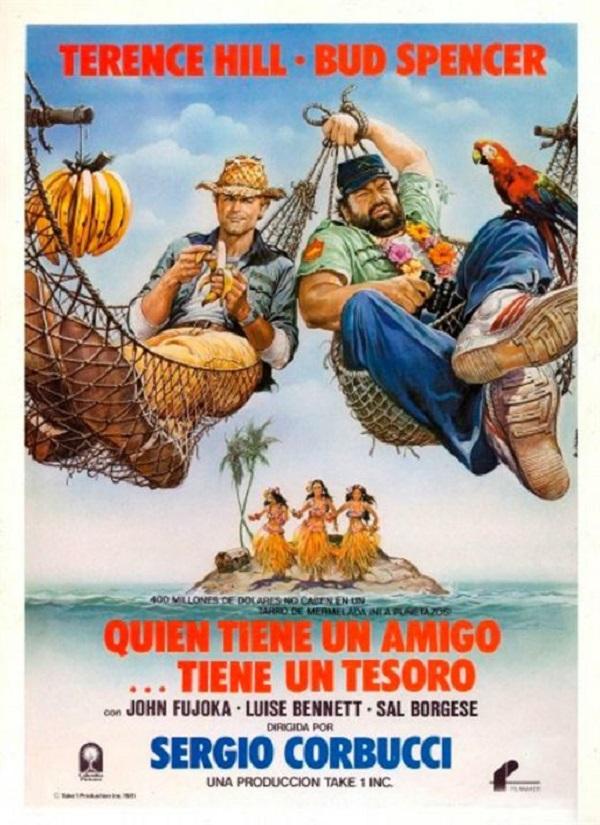 Descargar Película QUIEN ENCUENTRA UN AMIGO, ENCUENTRA UN TESORO [1981] (Chi trova un amico, trova un tesoro) MP4 HD720p Latino