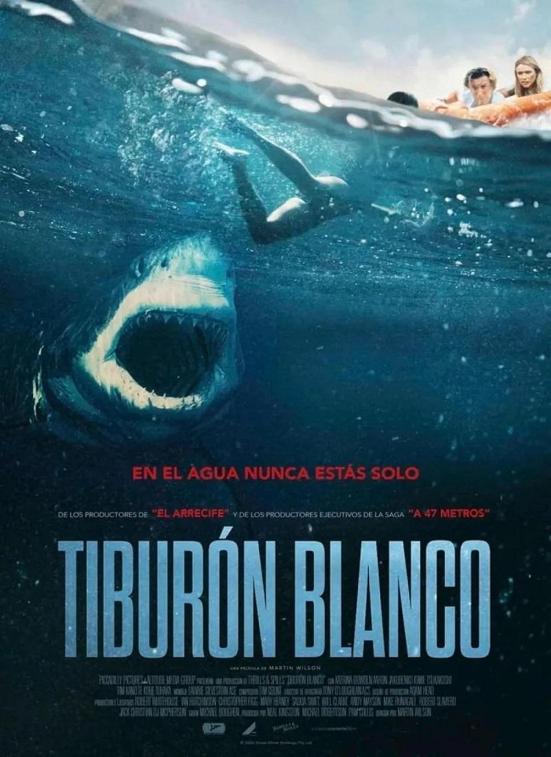 TIBURÓN BLANCO [2021] (Great White) [HD 720p, Latino, MEGA]
